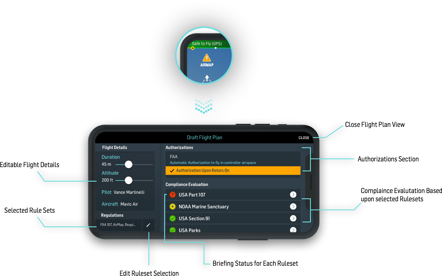 How do I connect my drone to my app? – AirMap